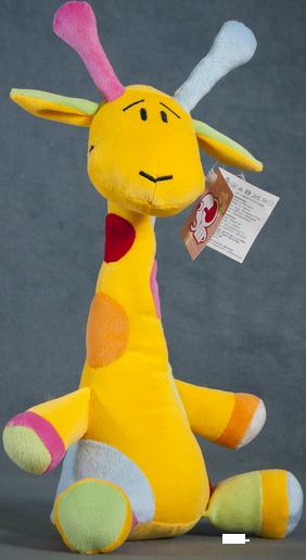 Giraf colorat