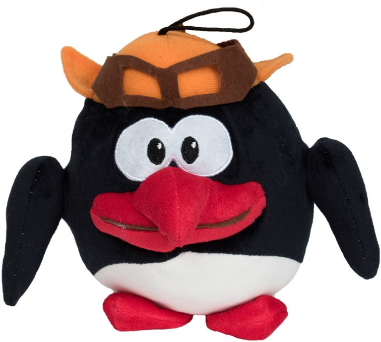 Balonas pinguin mic